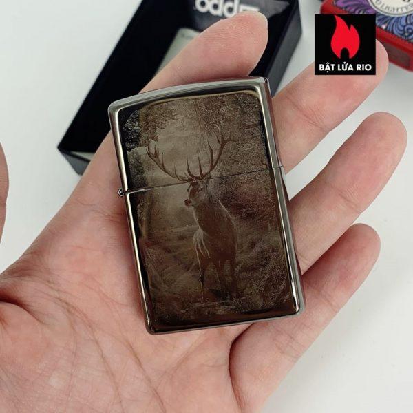 Zippo 49059 - Zippo Deer Design Black Ice® 1