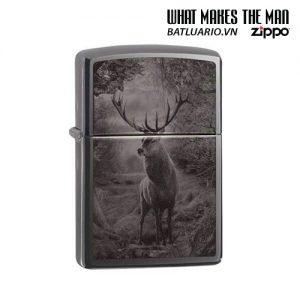 Zippo 49059 - Zippo Deer Design Black Ice®