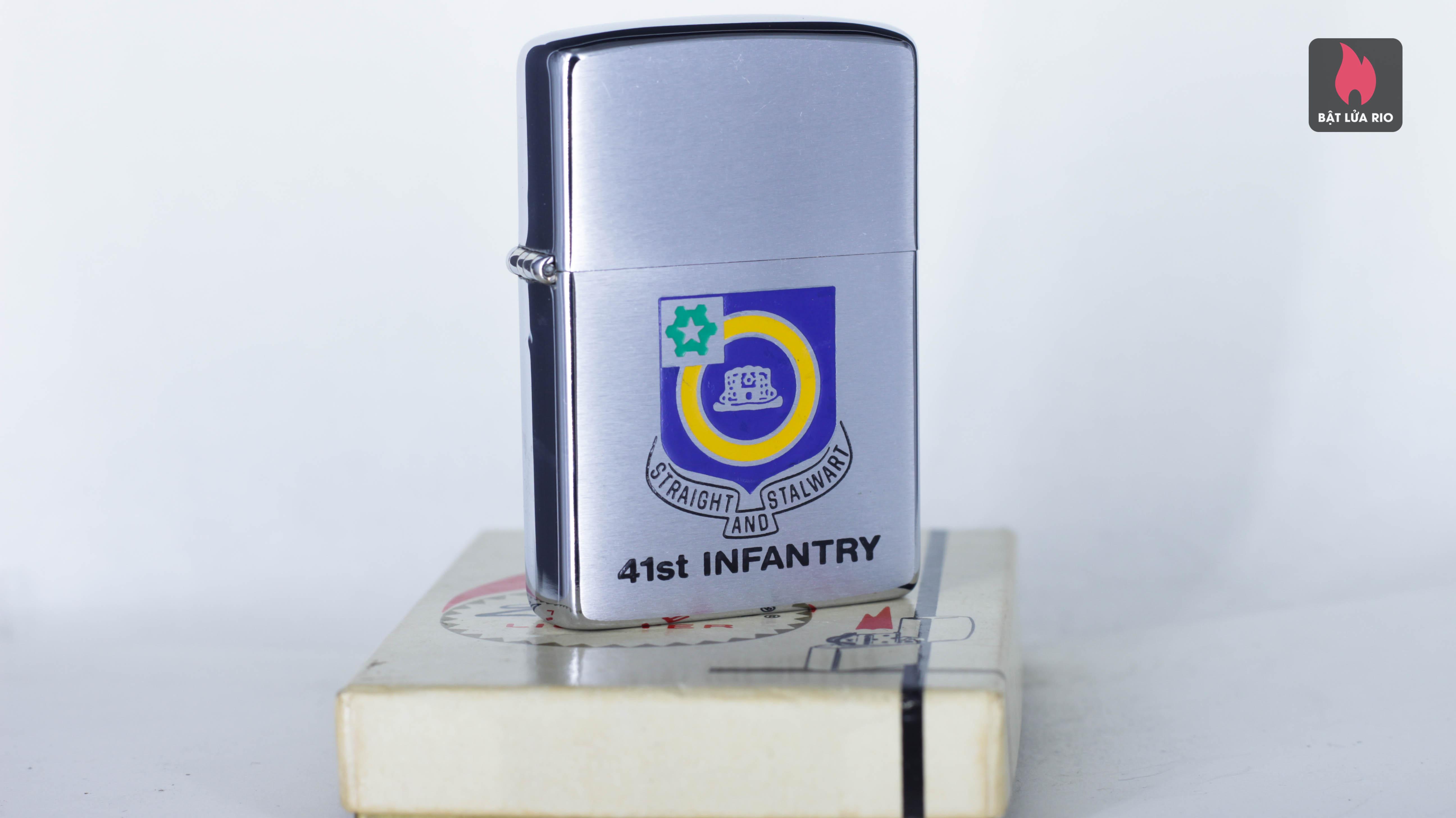 ZIPPO XƯA 1974 - 41ST INFANTRY