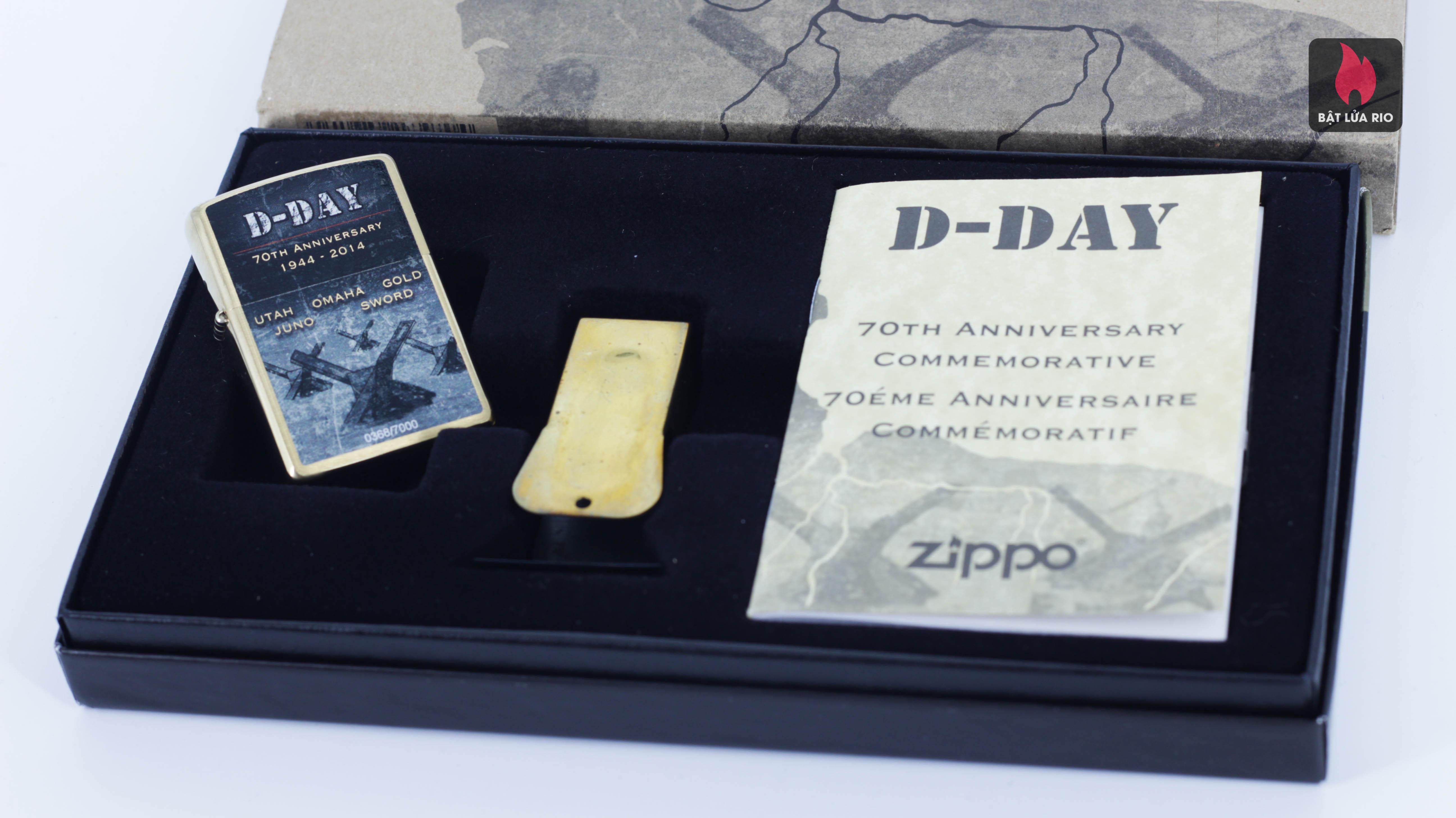 ZIPPO 2014 - D-DAY - 70TH ANNIVERSARY COMMEMORATIVE