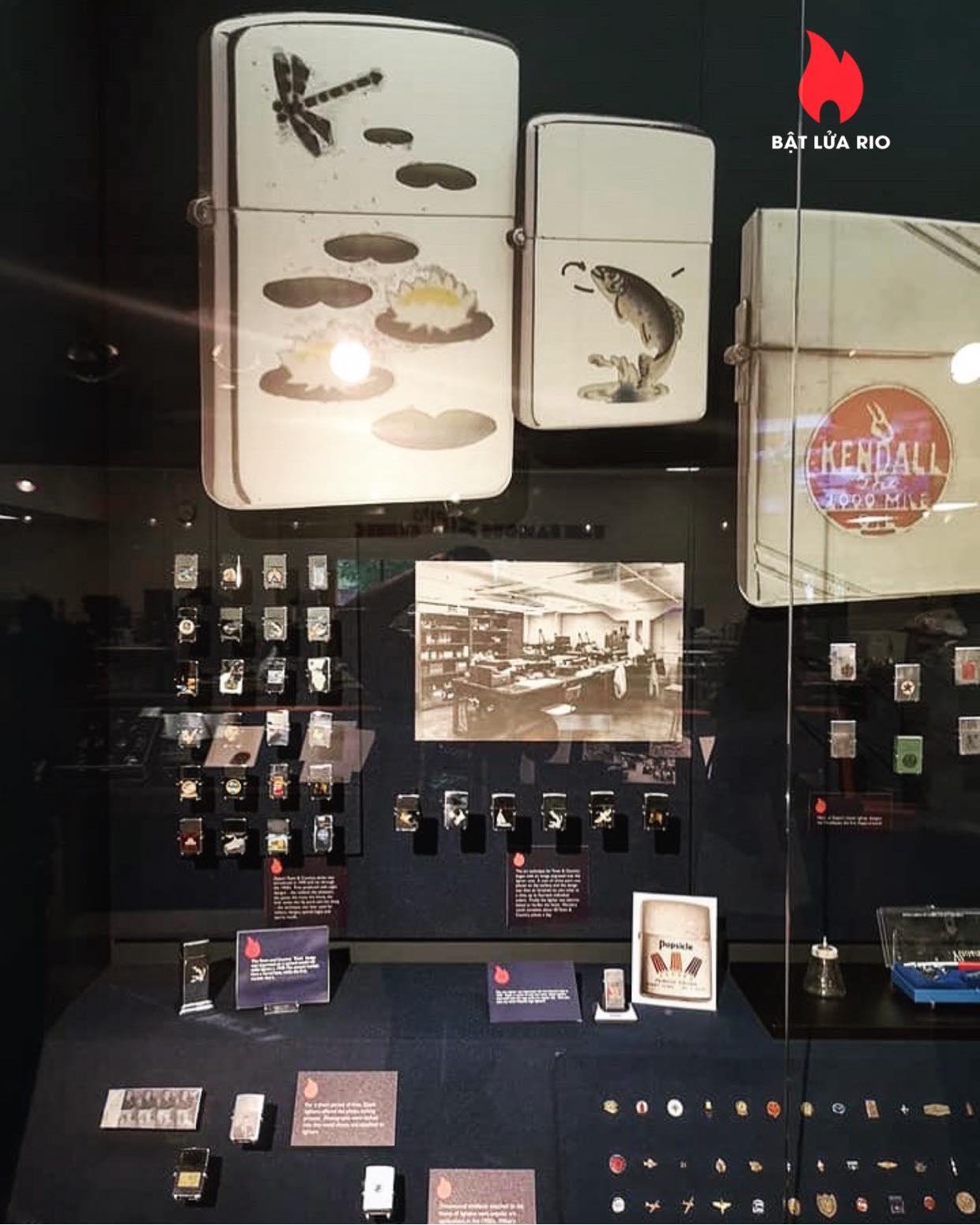 THAM QUAN BẢO TÀNG ZIPPO/CASE - ZIPPO/CASE MUSEUM 119