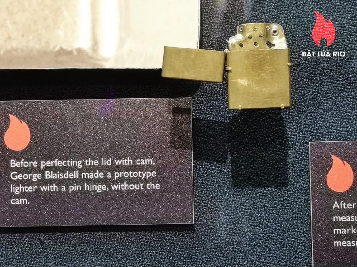 THAM QUAN BẢO TÀNG ZIPPO/CASE - ZIPPO/CASE MUSEUM 124