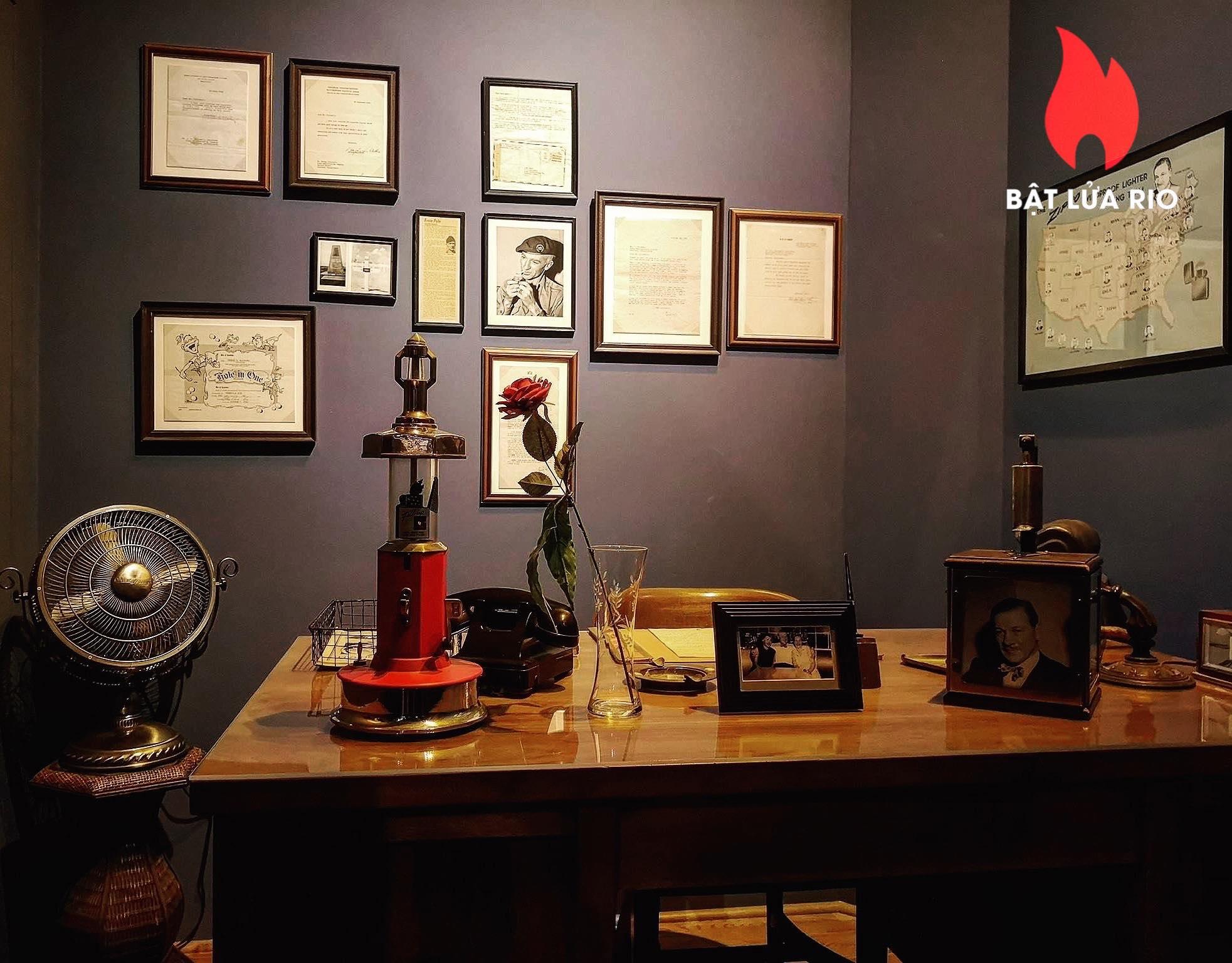 THAM QUAN BẢO TÀNG ZIPPO/CASE - ZIPPO/CASE MUSEUM 20