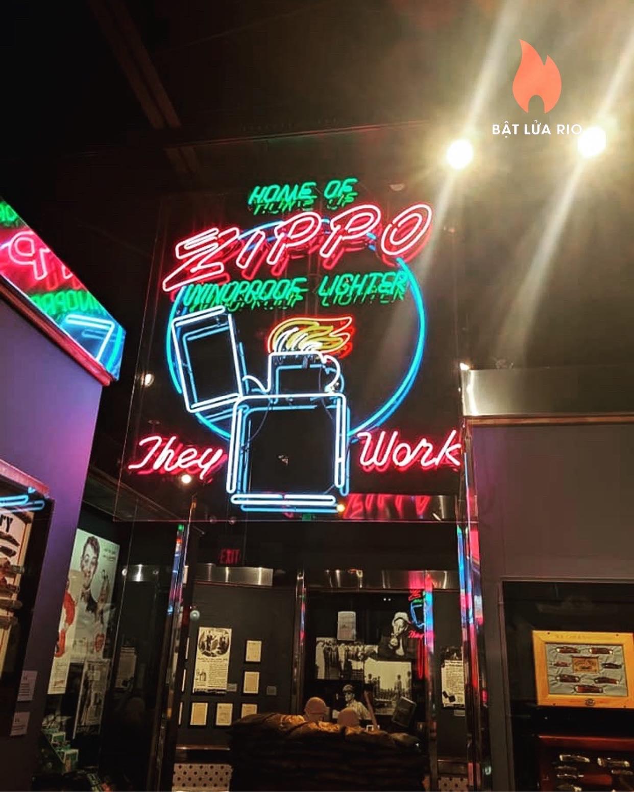 THAM QUAN BẢO TÀNG ZIPPO/CASE - ZIPPO/CASE MUSEUM 3