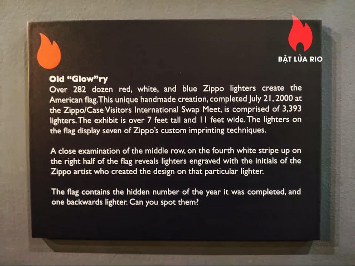 THAM QUAN BẢO TÀNG ZIPPO/CASE - ZIPPO/CASE MUSEUM 40