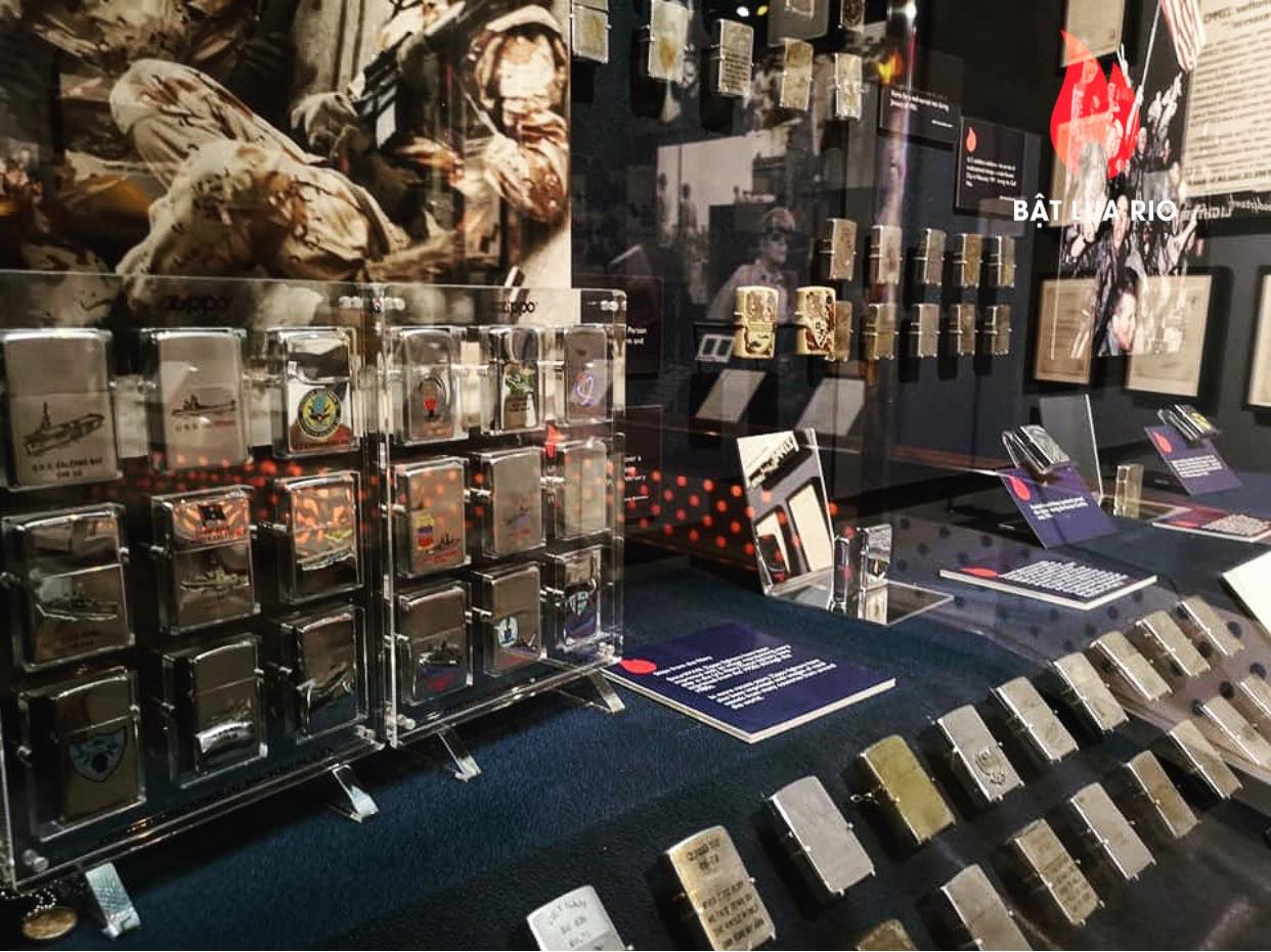 THAM QUAN BẢO TÀNG ZIPPO/CASE - ZIPPO/CASE MUSEUM 60