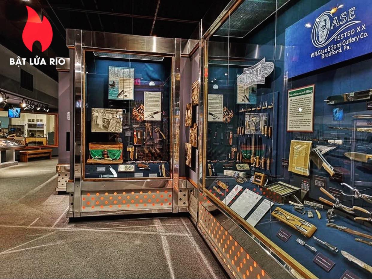 THAM QUAN BẢO TÀNG ZIPPO/CASE - ZIPPO/CASE MUSEUM 74