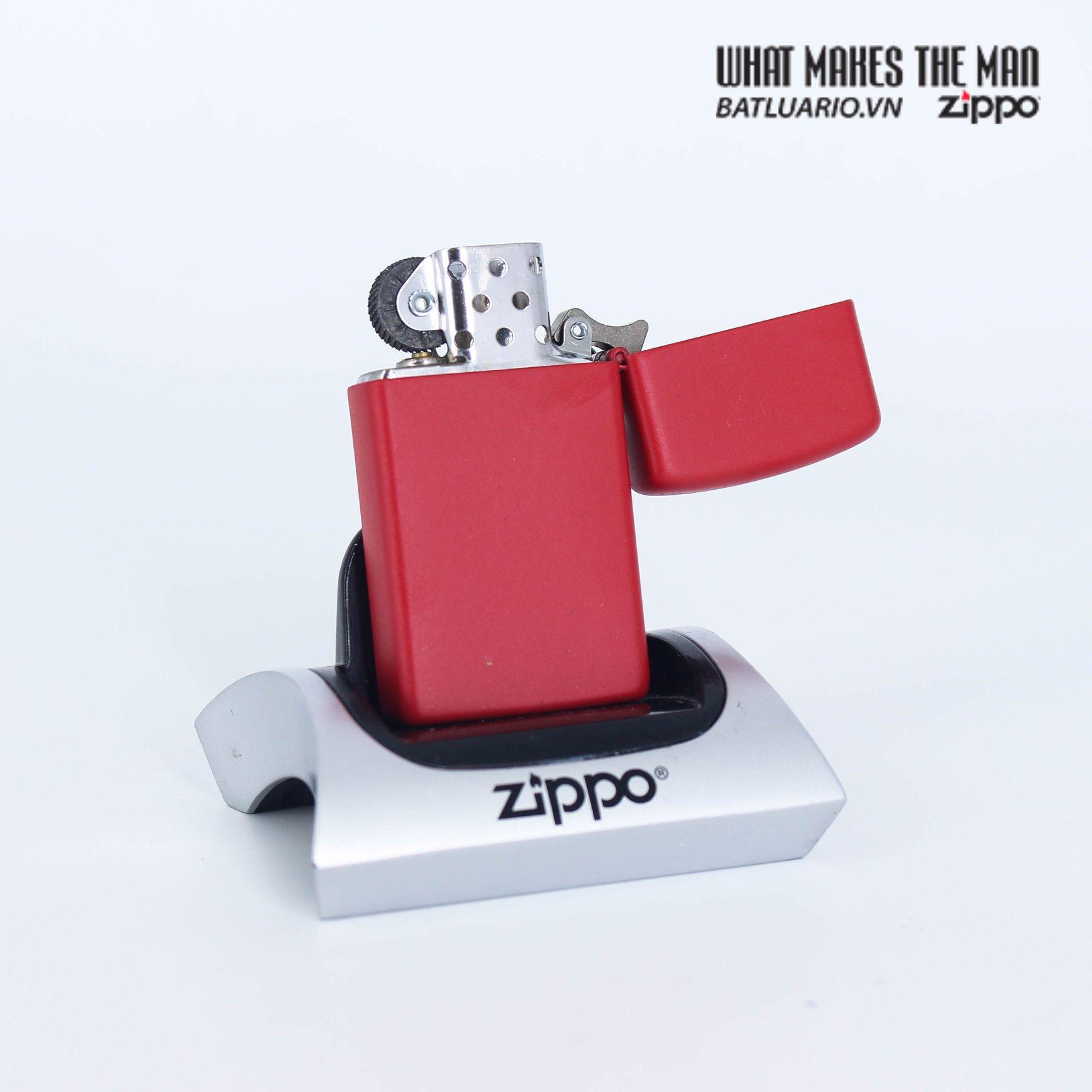Zippo 1633 - Zippo Slim® Red Matte 3
