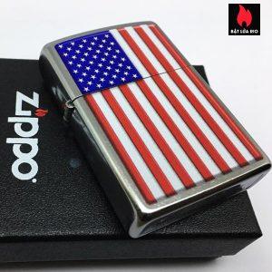 Zippo 29722 - Zippo Patriotic Street Chrome 1