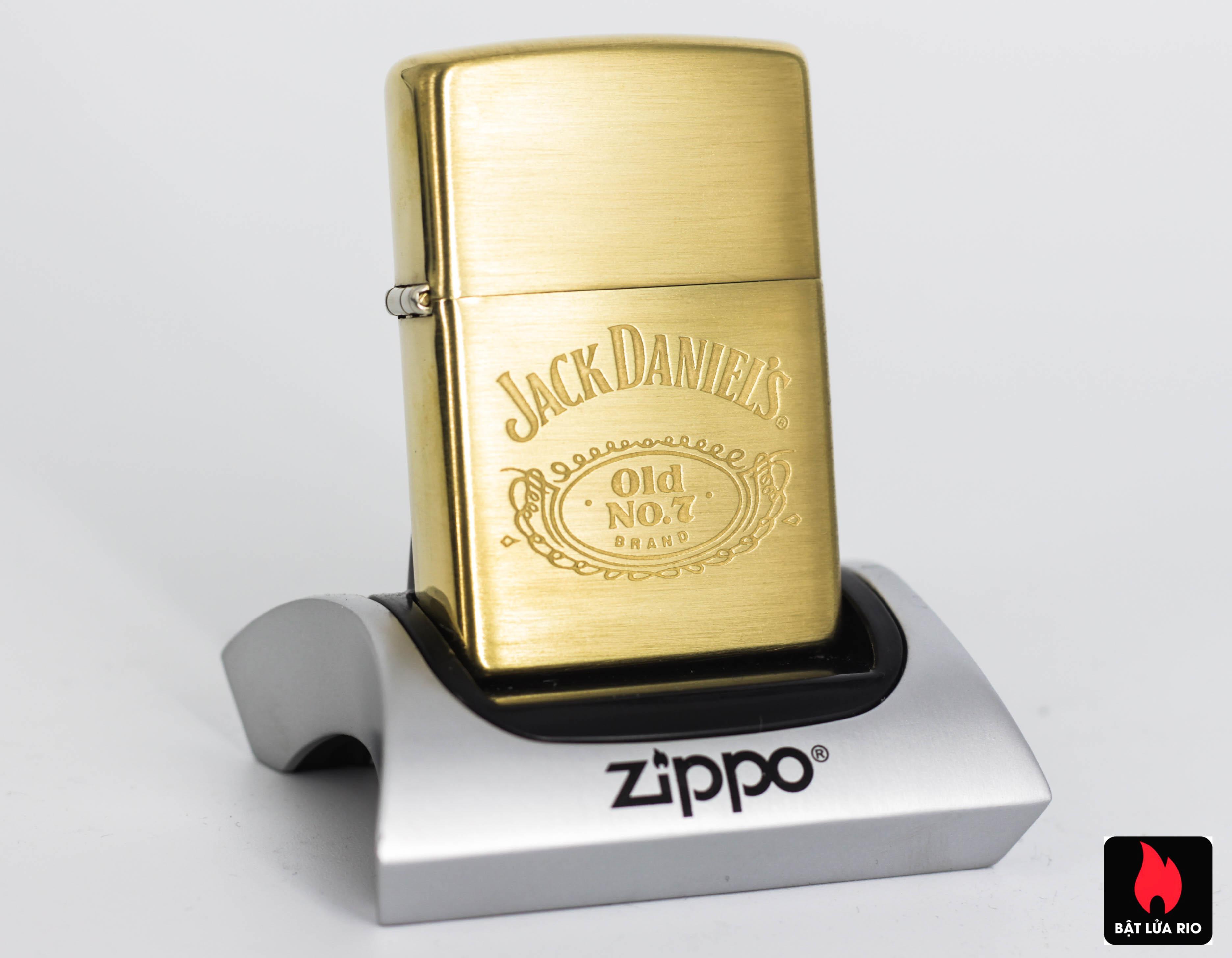 ZIPPO 2001 – JACK DANIEL'S – OLD NO.7