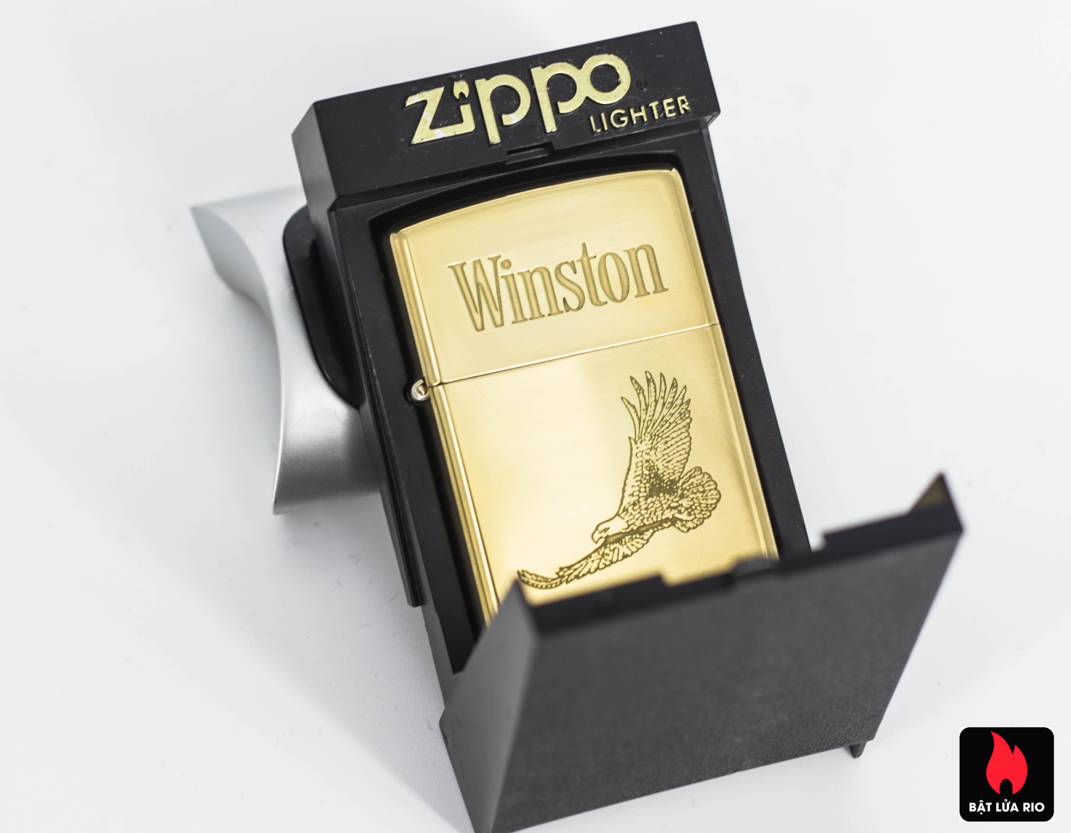 ZIPPO CHU NIÊN 1932-1992 – WINSTON – ĐỒNG NGUYÊN KHỐI