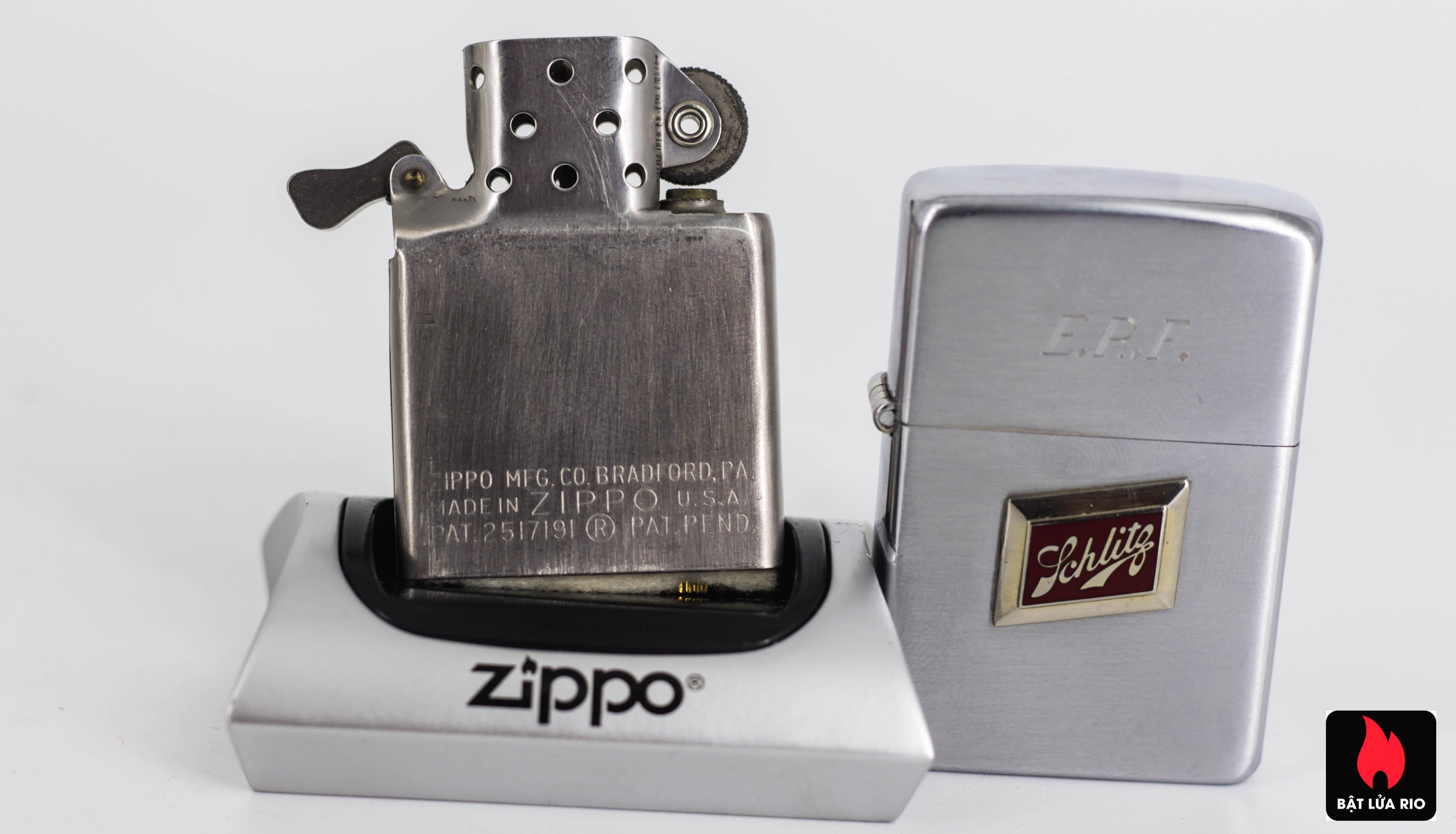 ZIPPO XƯA 1955 - SCHLITG