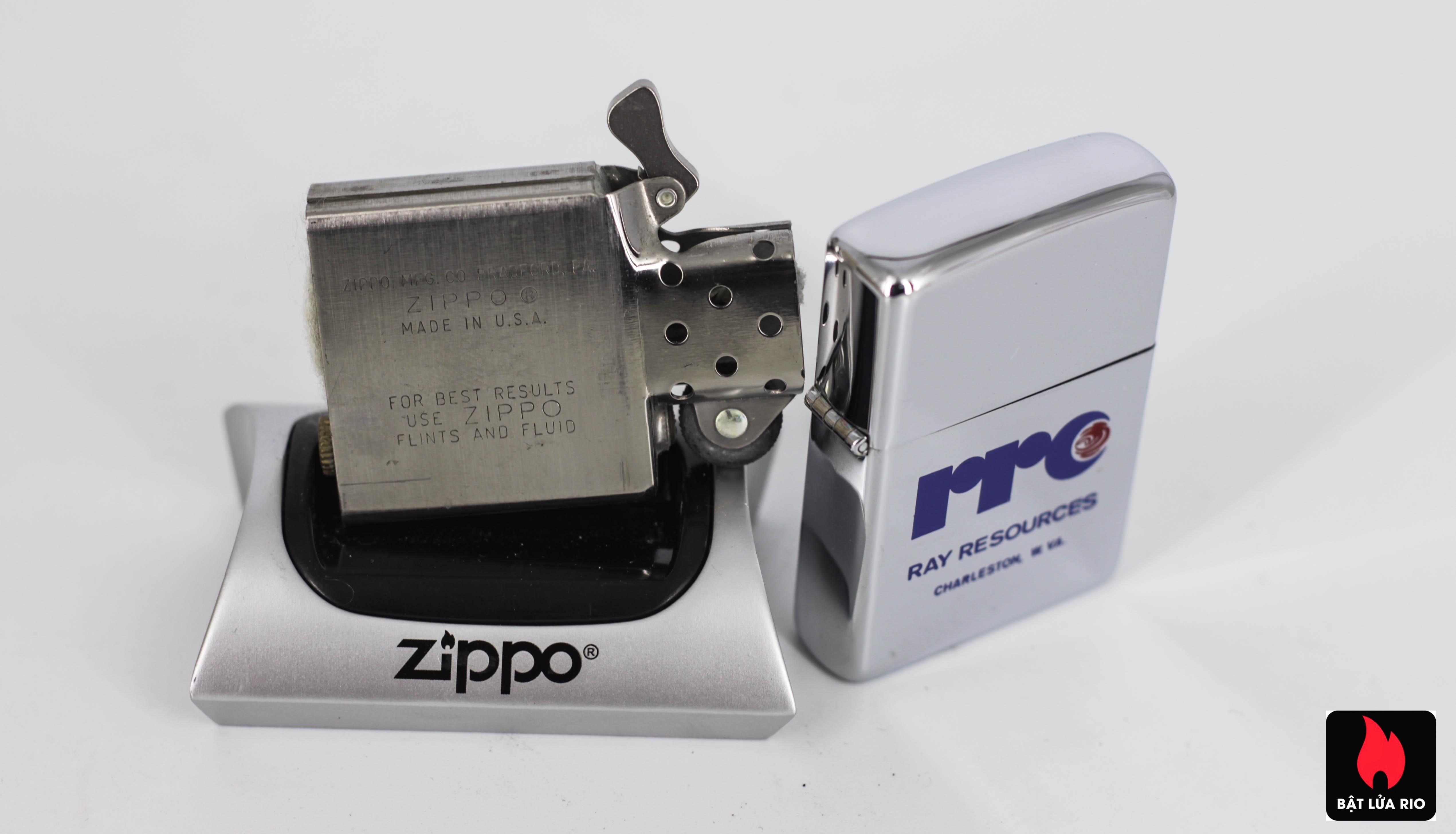 ZIPPO XƯA 1980 - RAY RESOURCES