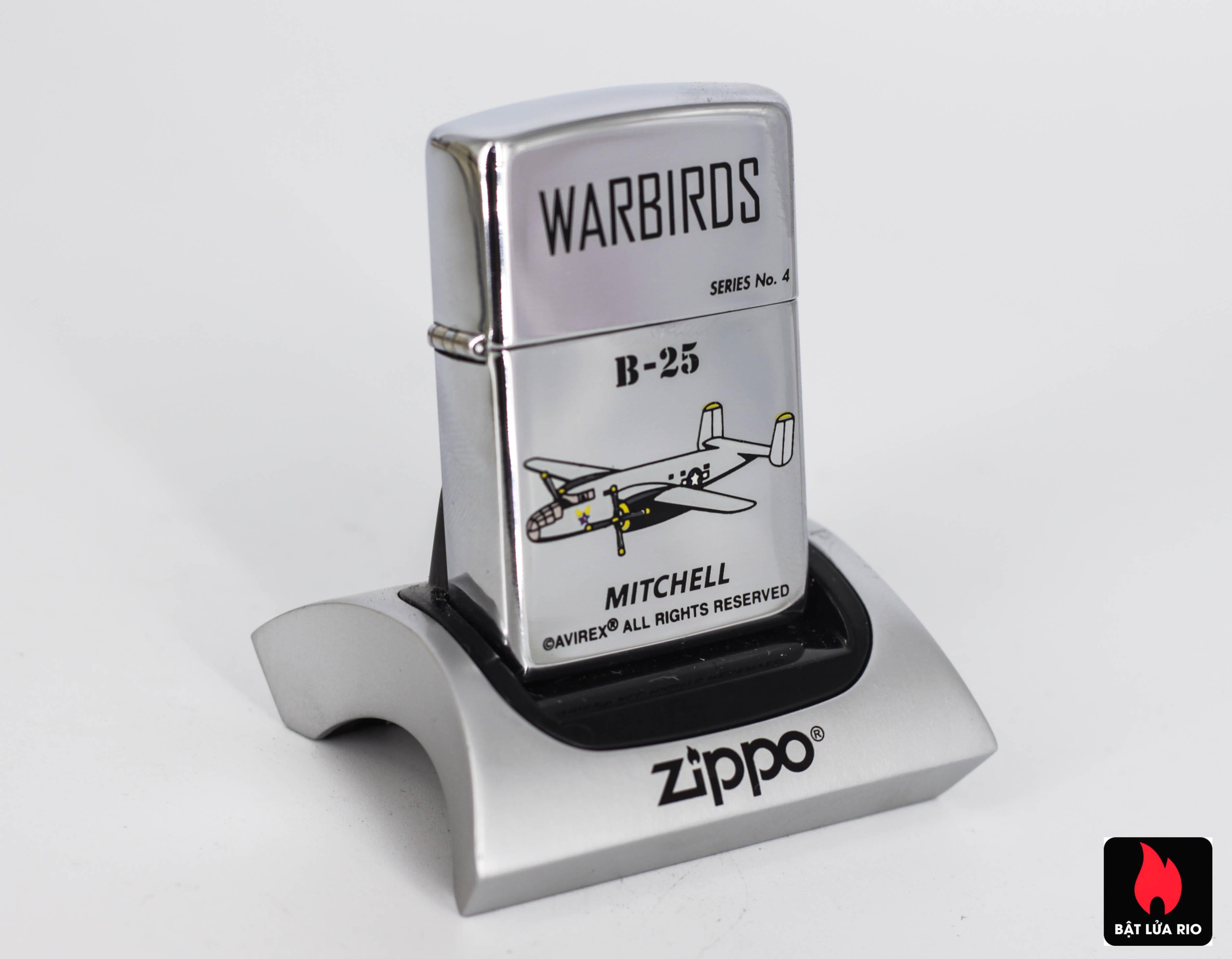 ZIPPO LA MÃ 1995 – WARBIRDS – B25 MITCHELL