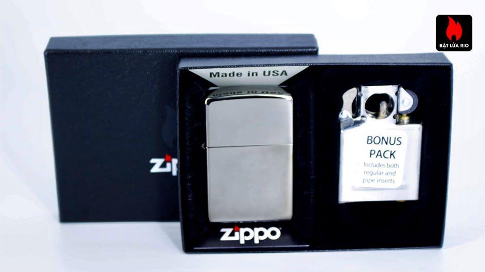 Zippo 29789 – Zippo Black Ice® Lighter & Pipe Insert 2