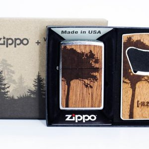 Zippo 49066 – Zippo WOODCHUCK USA Lighter & Bottle Opener Gift Set 1