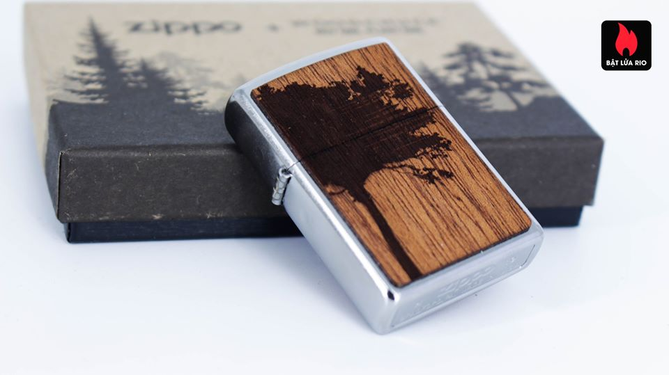 Zippo 49066 – Zippo WOODCHUCK USA Lighter & Bottle Opener Gift Set 11