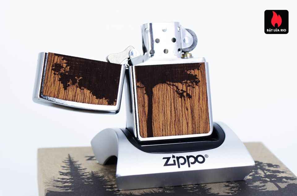 Zippo 49066 – Zippo WOODCHUCK USA Lighter & Bottle Opener Gift Set 13