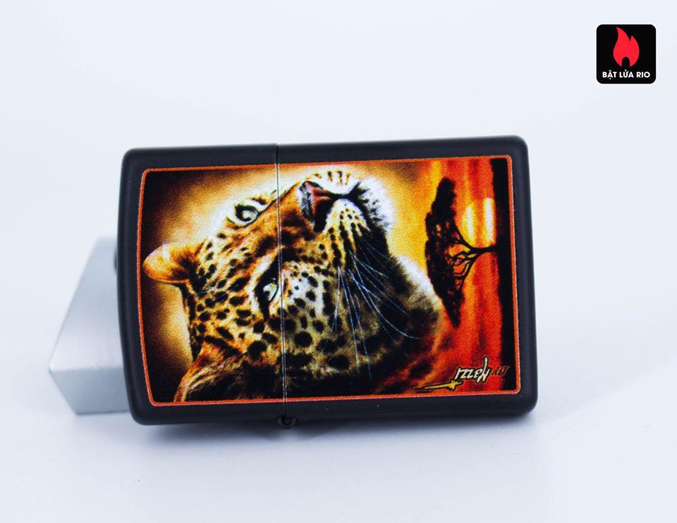 Zippo 49068 – Zippo Mazzi African Leopard Black Matte 5