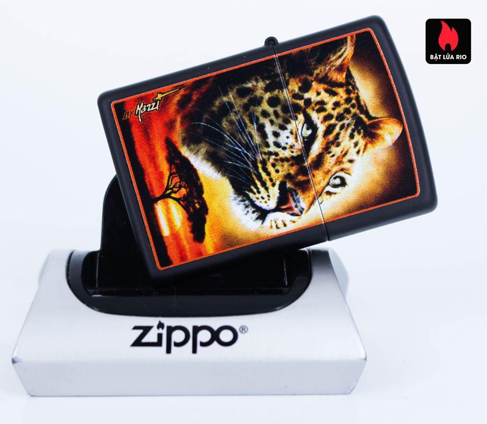 Zippo 49068 – Zippo Mazzi African Leopard Black Matte 6