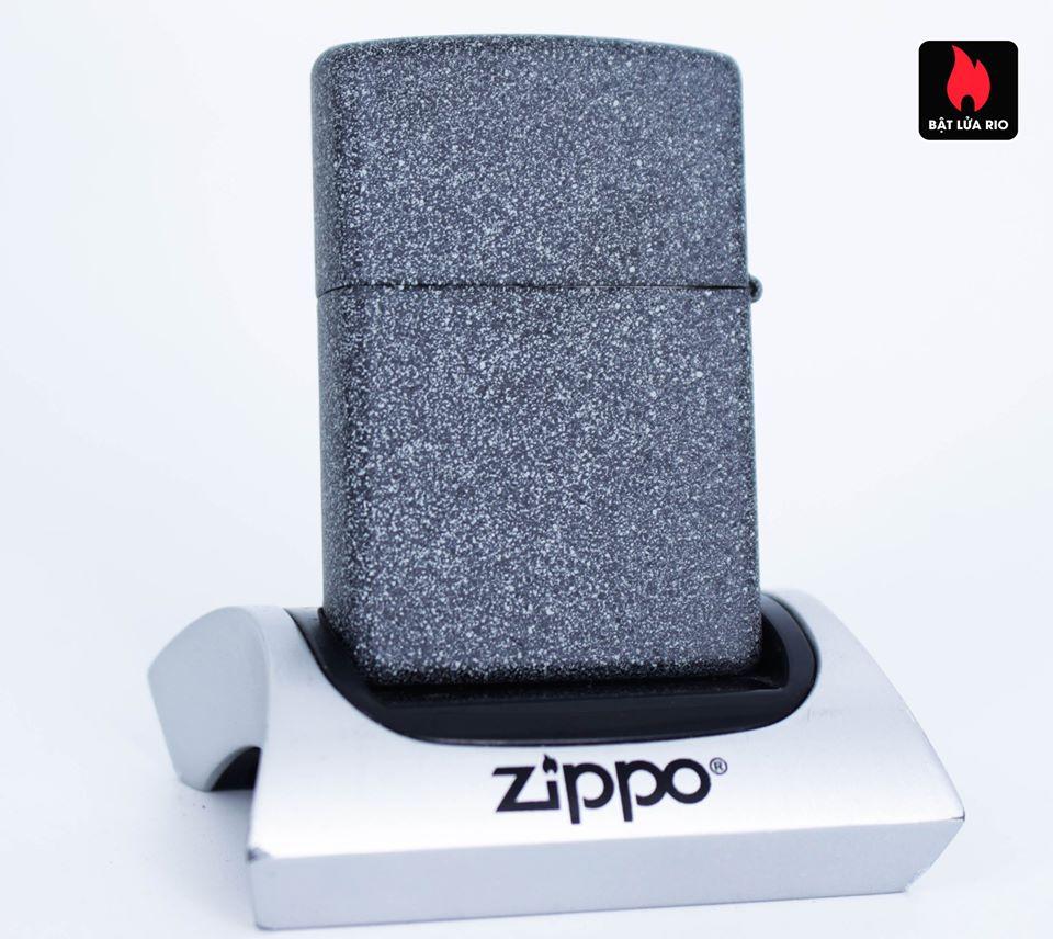 Zippo 49072 – Zippo Metal Dragon Shield Design Iron Stone 3