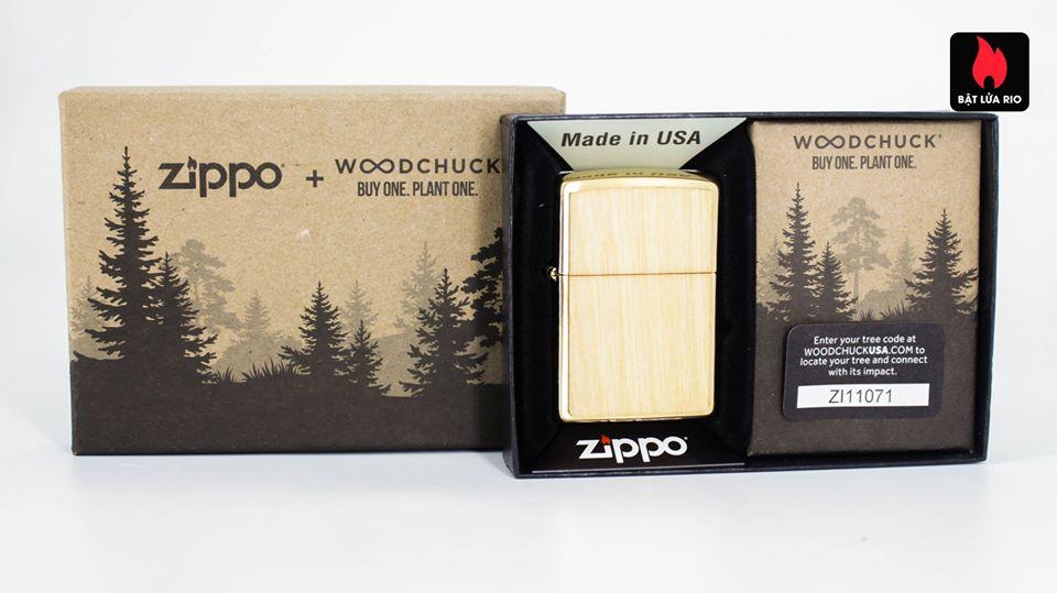 Zippo 49082 - Zippo WOODCHUCK USA Birch 1