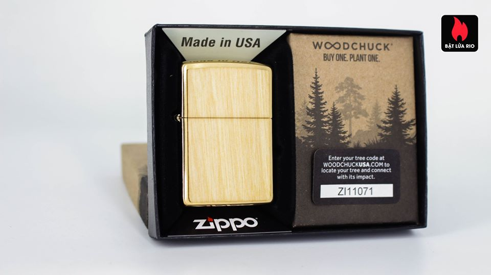 Zippo 49082 - Zippo WOODCHUCK USA Birch 2