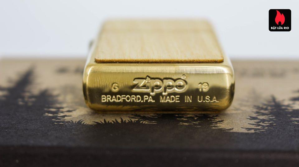 Zippo 49082 - Zippo WOODCHUCK USA Birch 3