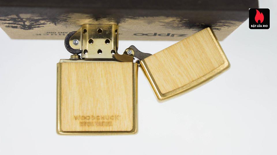 Zippo 49082 - Zippo WOODCHUCK USA Birch 8