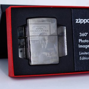 Zippo 49134 - Zippo GGB 125th Birthday Collectible Black Ice 1