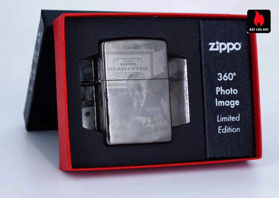 Zippo 49134 - Zippo GGB 125th Birthday Collectible Black Ice 1