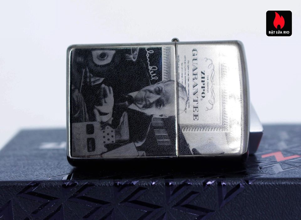 Zippo 49134 - Zippo GGB 125th Birthday Collectible Black Ice 10