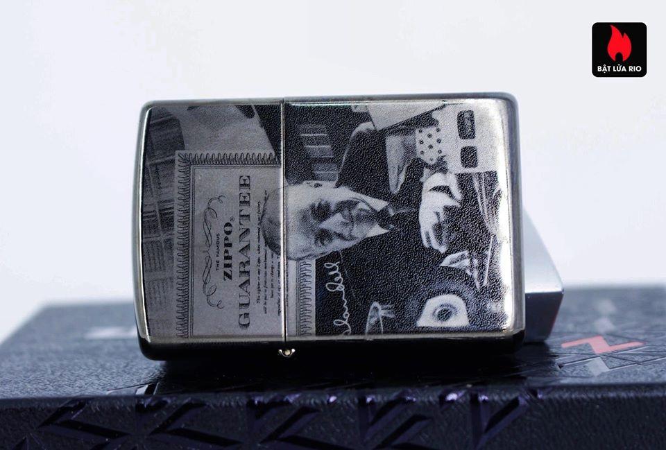 Zippo 49134 - Zippo GGB 125th Birthday Collectible Black Ice 11