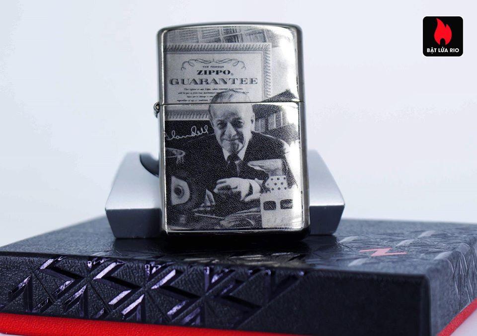 Zippo 49134 - Zippo GGB 125th Birthday Collectible Black Ice 2