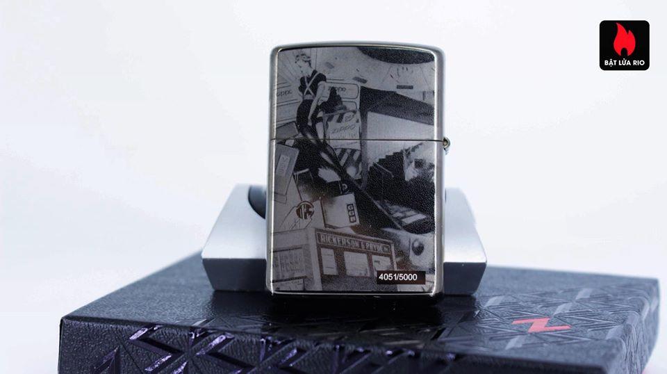 Zippo 49134 - Zippo GGB 125th Birthday Collectible Black Ice 3