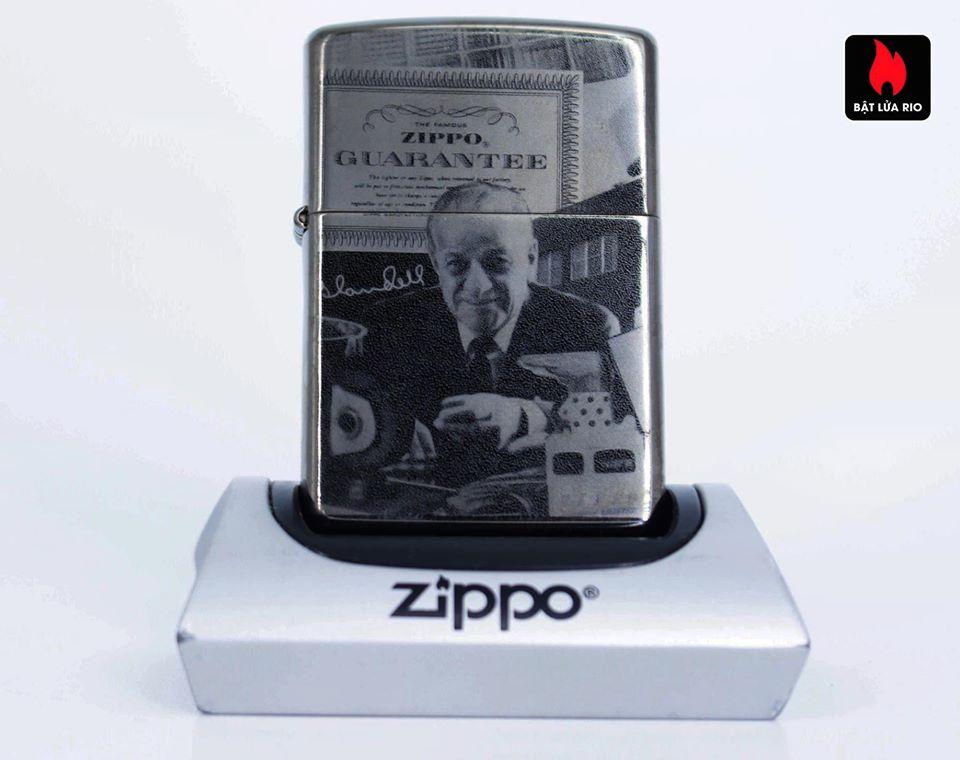 Zippo 49134 - Zippo GGB 125th Birthday Collectible Black Ice 6