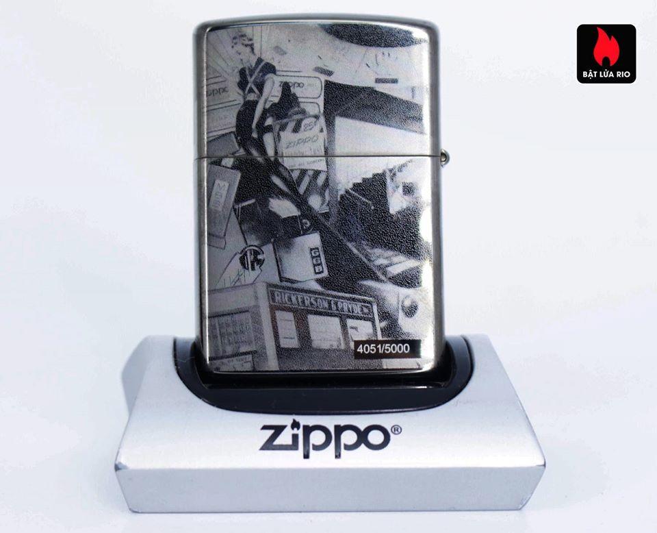 Zippo 49134 - Zippo GGB 125th Birthday Collectible Black Ice 7