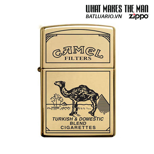 ZIPPO 254B KHẮC CAMEL - ZIPPO 254B.CAMEL