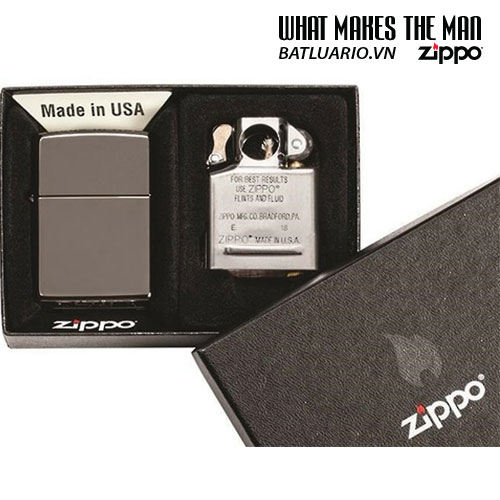 Zippo 29789 - Zippo Black Ice® Lighter & Pipe Insert
