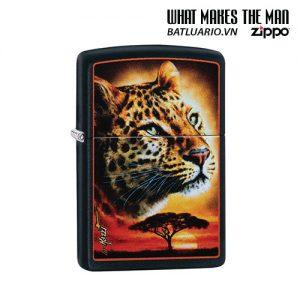 Zippo 49068 - Zippo Mazzi African Leopard Black Matte