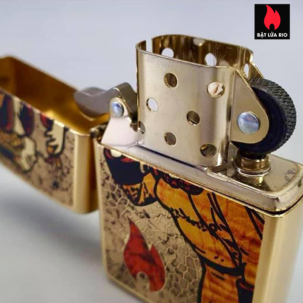 Zippo 254B Windy Fuzion Brass 6