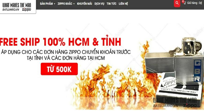 Mua bật lửa Zippo ở đâu? Bật lửa Zippo chính hãng nằm ở đâu TP.Hồ Chí Minh?