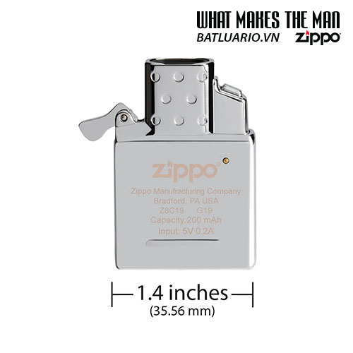 Ruột Zippo tia lửa điện Plasma - Rechargeable Lighter Insert - Double Arc - 65828 7