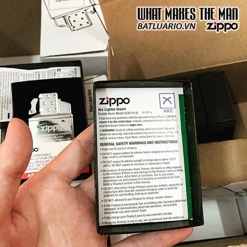 Ruột Zippo tia lửa điện Plasma - Zippo Rechargeable Lighter Insert - Double Arc - 65828 15