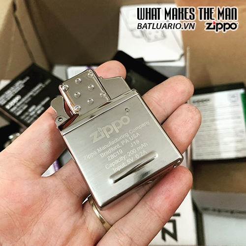 Ruột Zippo tia lửa điện Plasma - Zippo Rechargeable Lighter Insert - Double Arc - 65828 21