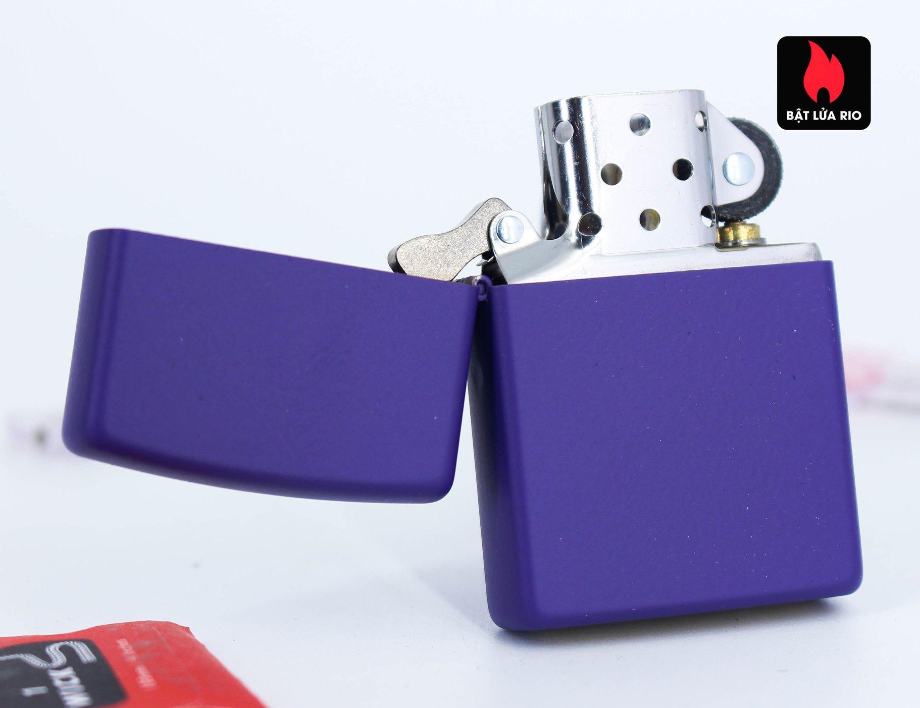 Zippo 237 - Zippo Purple Matte 2