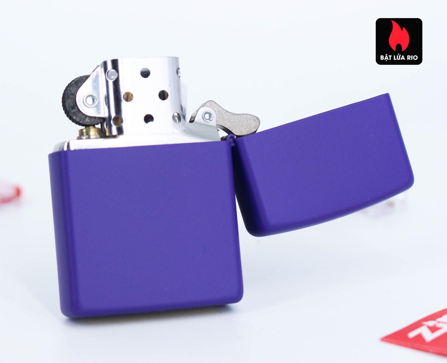 Zippo 237 - Zippo Purple Matte 3