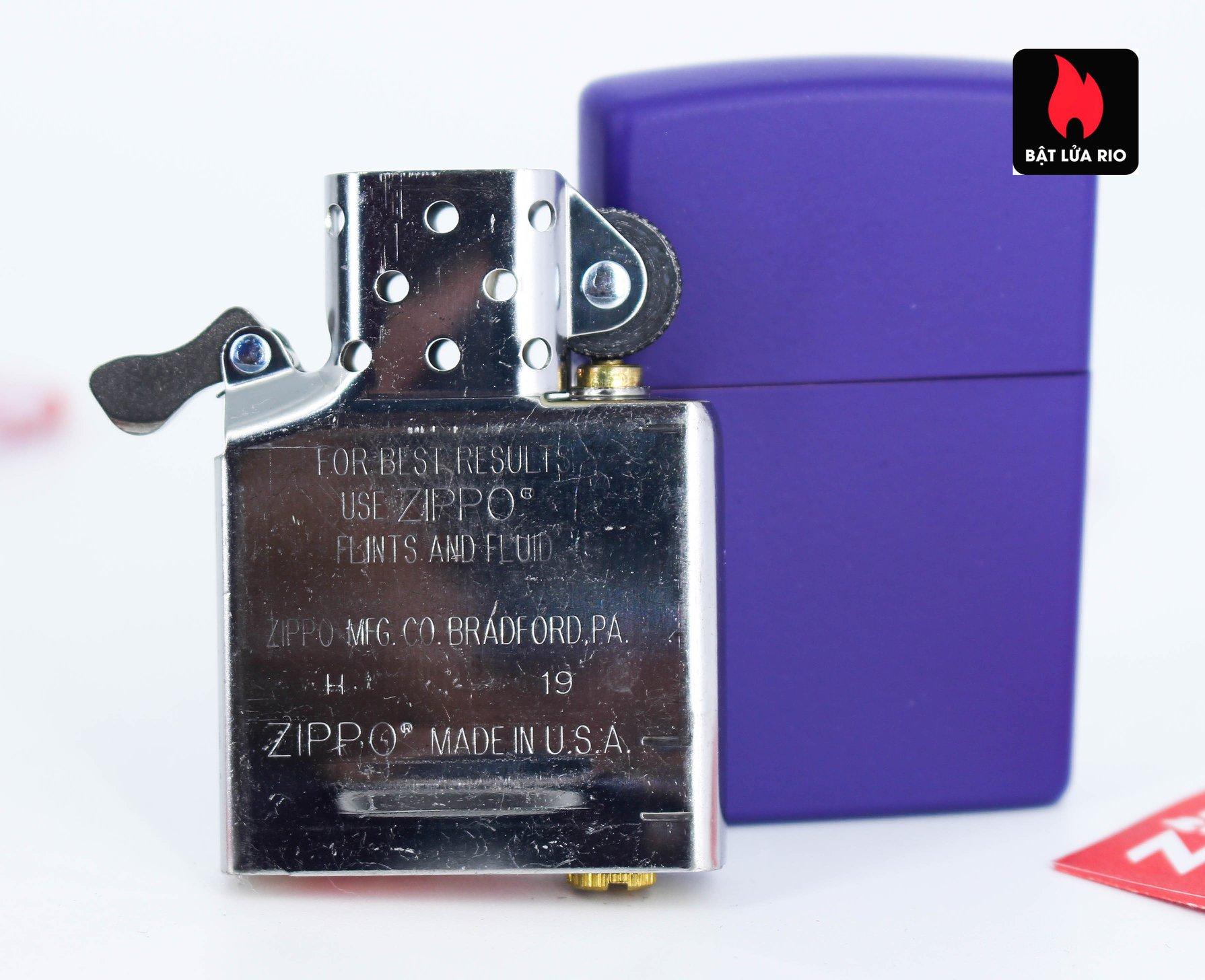 Zippo 237 - Zippo Purple Matte 5