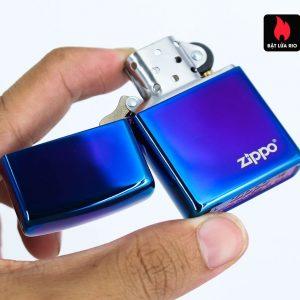 Zippo 29899ZL - Zippo High Polish Indigo Zippo Logo 1