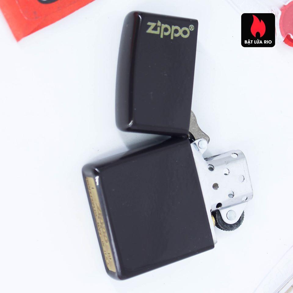 Zippo 49180ZL - Zippo Brown Zippo Logo 7